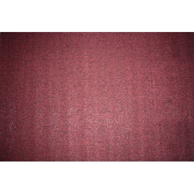 Washable Doormat Color: Burgundy, Rug Size: 26 x 42