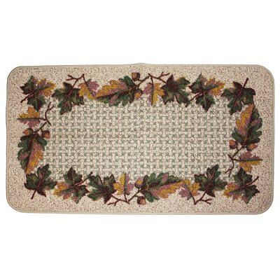 Hearth Leaf Kitchen Mat