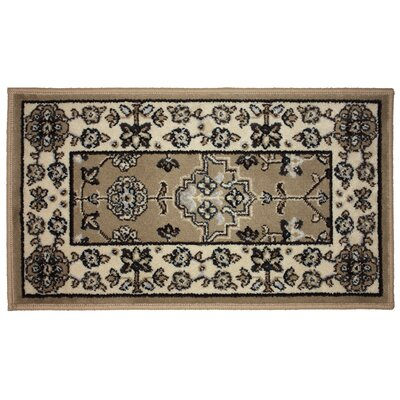 Regency Bordx Woven Kitchen Mat Rug Size: 17 x 29