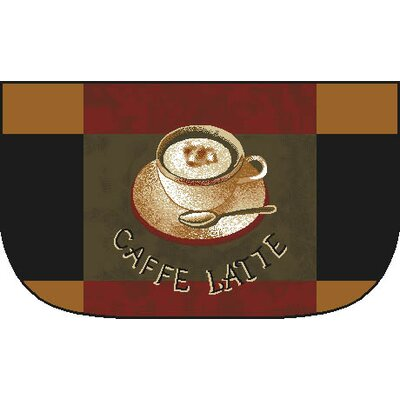 Caffe Latte Slice Kitchen Mat
