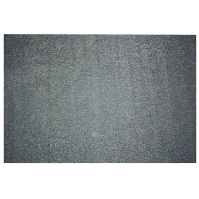 Washable Doormat Mat Size: Rectangle 19 x 210, Color: Gray