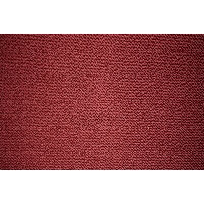 Berber Doormat Rug Size: 110.4 x 37, Color: Burgundy