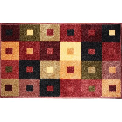 Square Woven Kitchen Mat