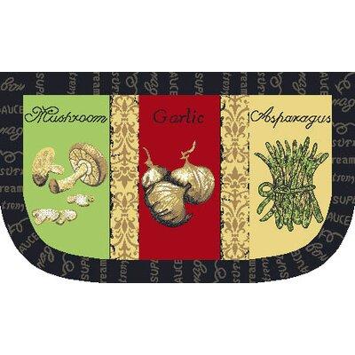 Garlic Slice Kitchen Mat