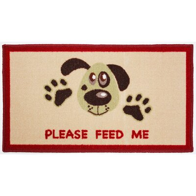 Please Feed Me Kitchen Mat