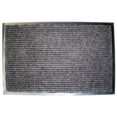 Wentworth Ribbed Walk Off Utility Mat Color: Charcoal