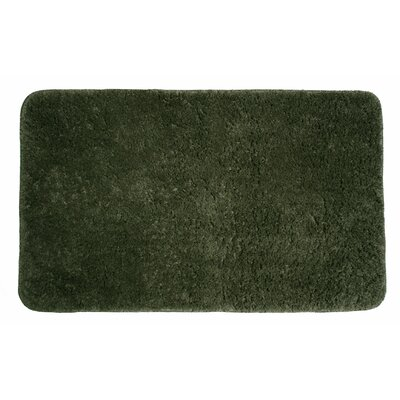 Lorrie Bath Rug Size: 0.5 H x 24 W x 40 D, Color: Olive Green
