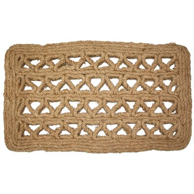 Tarrytown Chain Rectangle Coco Doormat