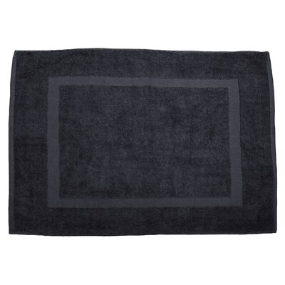 Amie Bath Rug Color: Dark Gray