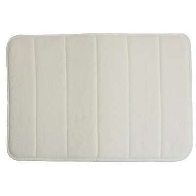 Taylor Memory Foam Bath Rug Color: Natural