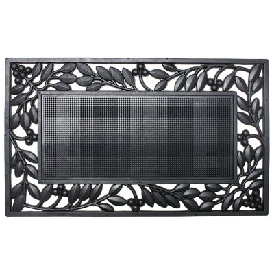 Collinsburg Rubber Leaf Border Doormat