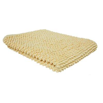 Marcie Popcorn Bath Rug Color: Buttermilk