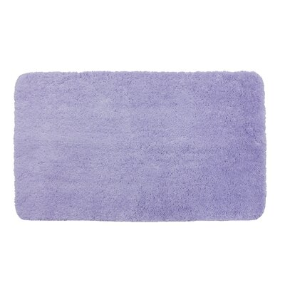 Lorrie Bath Rug Size: 0.5 H x 20 W x 33 D, Color: Purple