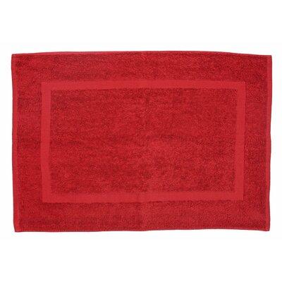 Amie Bath Rug Color: Paprika