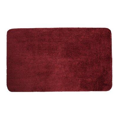 Lorrie Bath Rug Size: 0.5 H x 20 W x 33 D, Color: Cabernet