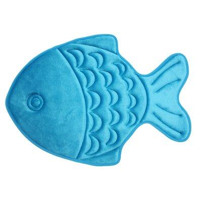 Gordon Kids Memory Foam Fish Bath Rug