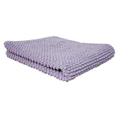 Marcie Popcorn Bath Rug Color: Purple