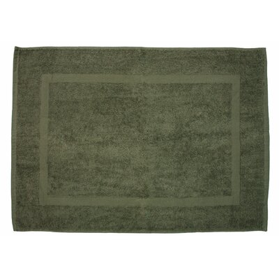 Amie Bath Rug Color: Olive Green