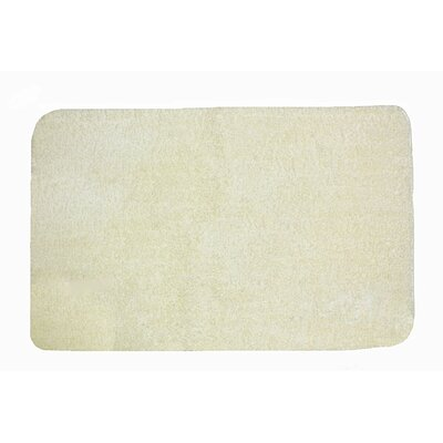 Lorrie Bath Rug Size: 0.5 H x 24 W x 40 D, Color: Vanilla