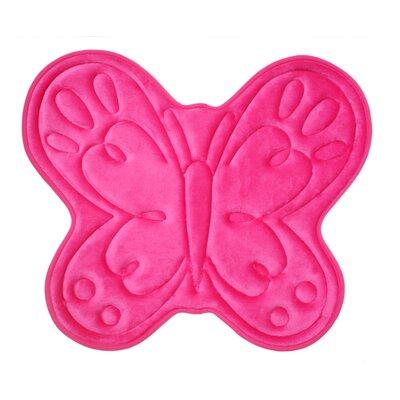 Gordon Kids Memory Foam Butterfly Bath Rug