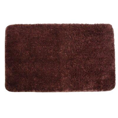 Lorrie Bath Rug Size: 0.5 H x 20 W x 33 D, Color: Chocolate