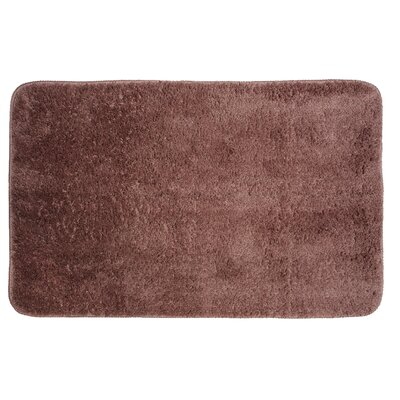 Lorrie Bath Rug Size: 0.5 H x 20 W x 33 D, Color: Sable
