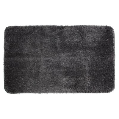 Lorrie Bath Rug Size: 0.5 H x 20 W x 33 D, Color: Dark Gray