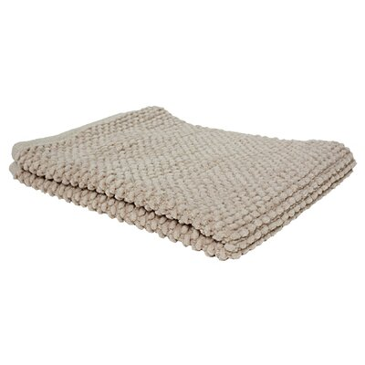 Marcie Popcorn Bath Rug Color: Linen