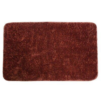 Lorrie Bath Rug Size: 0.5 H x 24 W x 40 D, Color: Copper