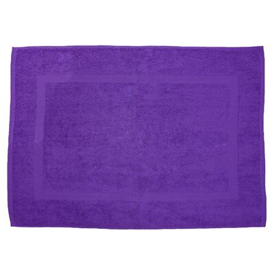 Amie Bath Rug Color: Purple