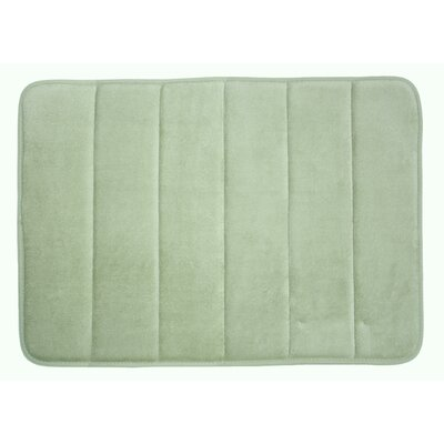 Taylor Memory Foam Bath Rug Color: Sage Green
