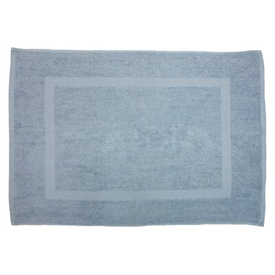 Amie Bath Rug Color: Smoke Blue