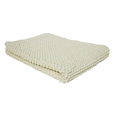 Marcie Popcorn Bath Rug Color: Natural
