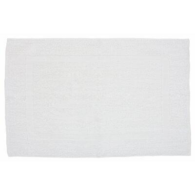 Amie Bath Rug Color: White