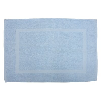 Amie Bath Rug Color: Sky Blue