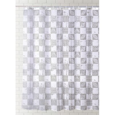 Casias Vinyl Shower Curtain