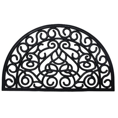 Colwyn Rubber Iron Heart Doormat