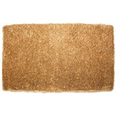 Plain Doormat Rug Size: 26 x 4