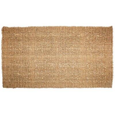 Plain Tile Loop Doormat Rug Size: 110 x 3