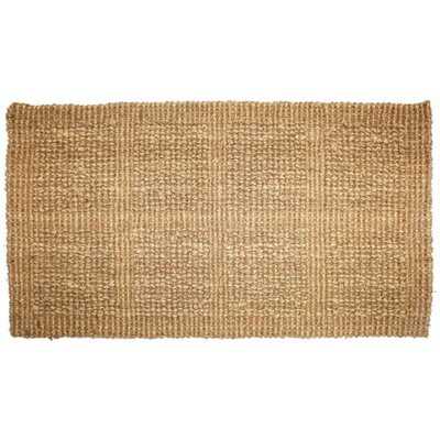 Plain Tile Loop Doormat Rug Size: 22 x 36