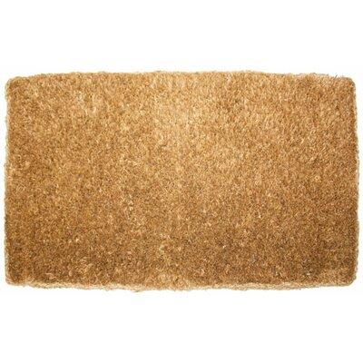 Plain Doormat Mat Size: 1'8