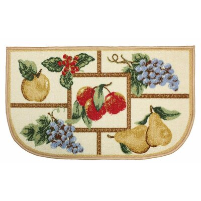 Fruit Slice Kitchen Mat