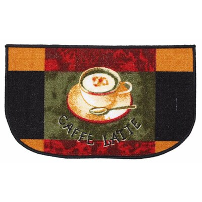Caffe Latte Slice Kitchen Mat