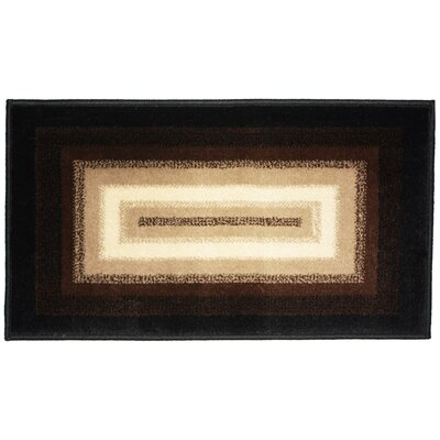 Wonderland Woven Kitchen Mat Rug Size: 26 X 42