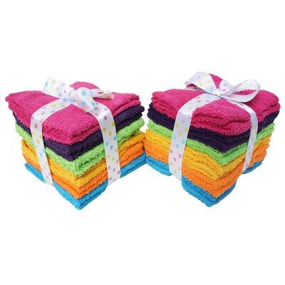 Washcloth Color: Solid Brights
