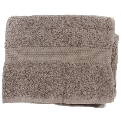 Linen Provence Bath Towel (Set of 3) Color: Sable