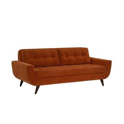 Ava Sofa Upholstery: Scan, Leg Finish: Metal