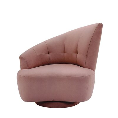 Odyssey Left Swivel Barrel Chair Fabric: Woolco Beige