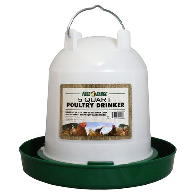 Poultry Water Fountain Size: 1 Gallon