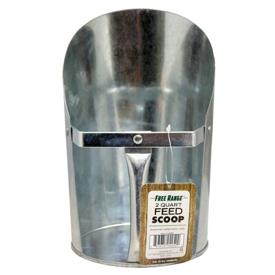Feed Scoop Size: 2 qt.